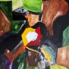 Aquarelle_kubistisch 5-1-109