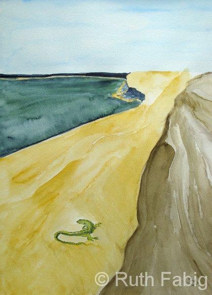 Aquarelle_Tiere 5-2-29_salamander