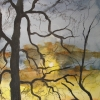Aquarelle_Landschaften 2-1-40_abendstimmung