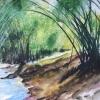 Aquarelle_Landschaften 2-1-42_am-waldrand